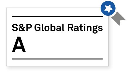 Standard & Poor's Rating Services A