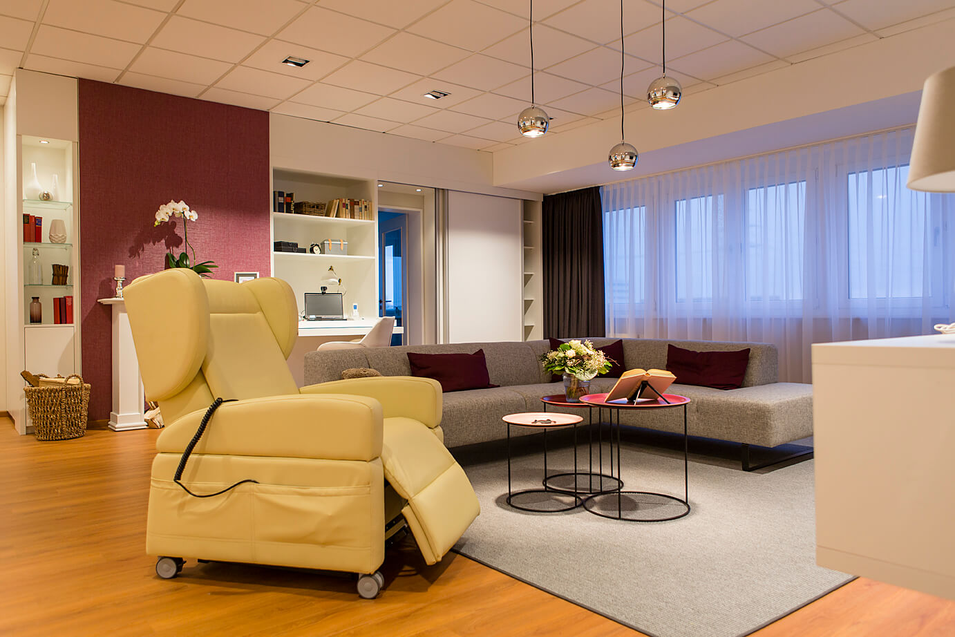 Ambient Assisted Living Musterwohnung Wohnzimmer